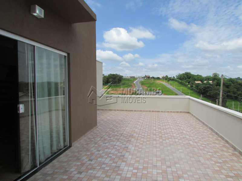 Varanda - Casa em Condomínio 3 quartos à venda Itatiba,SP - R$ 960.000 - FCCN30294 - 4
