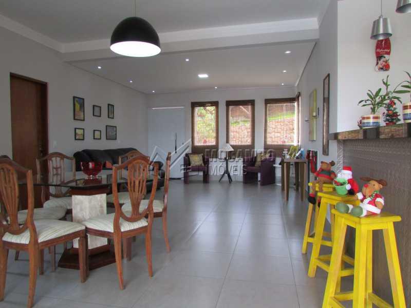Sala de Jantar - Casa em Condomínio 3 quartos à venda Itatiba,SP - R$ 960.000 - FCCN30294 - 6