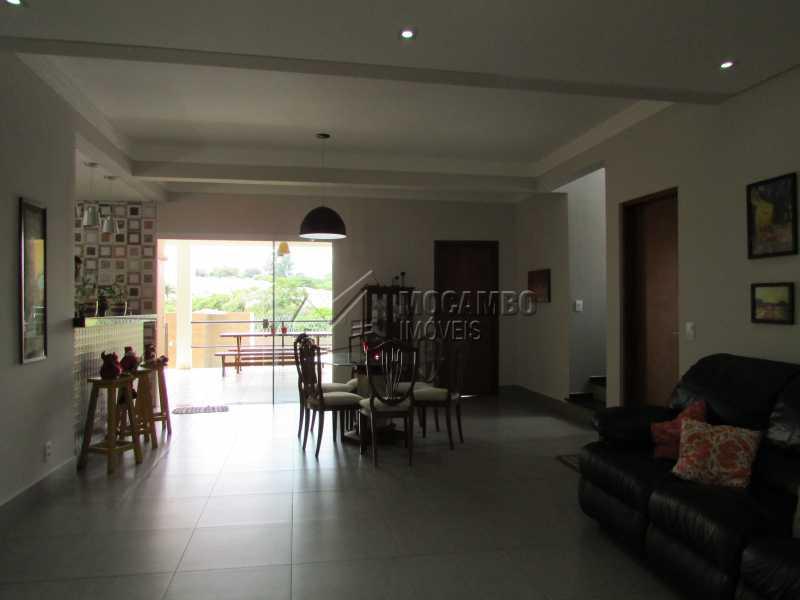 Sala de Estar - Casa em Condomínio 3 quartos à venda Itatiba,SP - R$ 960.000 - FCCN30294 - 7