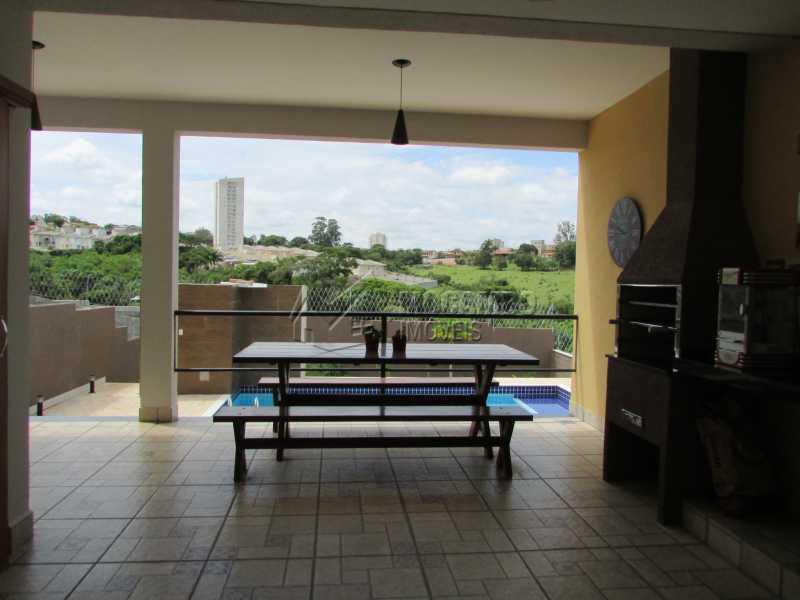 Churrasqueira - Casa em Condomínio 3 quartos à venda Itatiba,SP - R$ 960.000 - FCCN30294 - 14