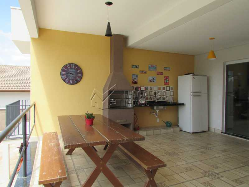 Churrasqueira - Casa em Condomínio 3 quartos à venda Itatiba,SP - R$ 960.000 - FCCN30294 - 13