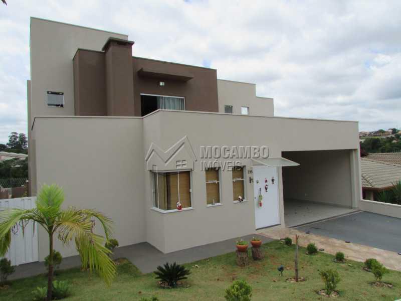 Fachada - Casa em Condomínio 3 quartos à venda Itatiba,SP - R$ 960.000 - FCCN30294 - 25