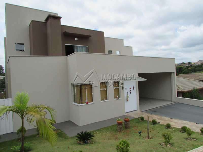 Fachada - Casa em Condomínio 3 quartos à venda Itatiba,SP - R$ 960.000 - FCCN30294 - 1