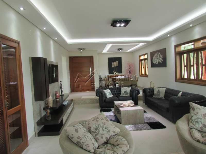 Sala dois Ambientes - Casa em Condomínio 5 quartos à venda Itatiba,SP - R$ 1.800.000 - FCCN50015 - 3