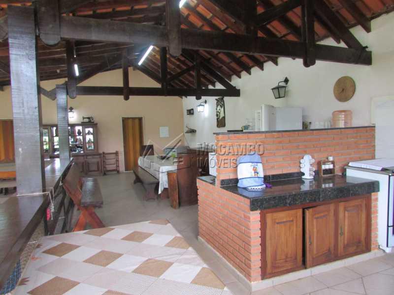 Churrasqueira - Casa em Condomínio 5 quartos à venda Itatiba,SP - R$ 1.800.000 - FCCN50015 - 10