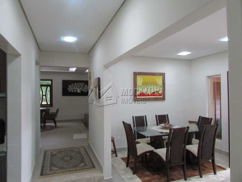 Sala de Jantar - Casa em Condomínio 5 quartos à venda Itatiba,SP - R$ 1.800.000 - FCCN50015 - 19