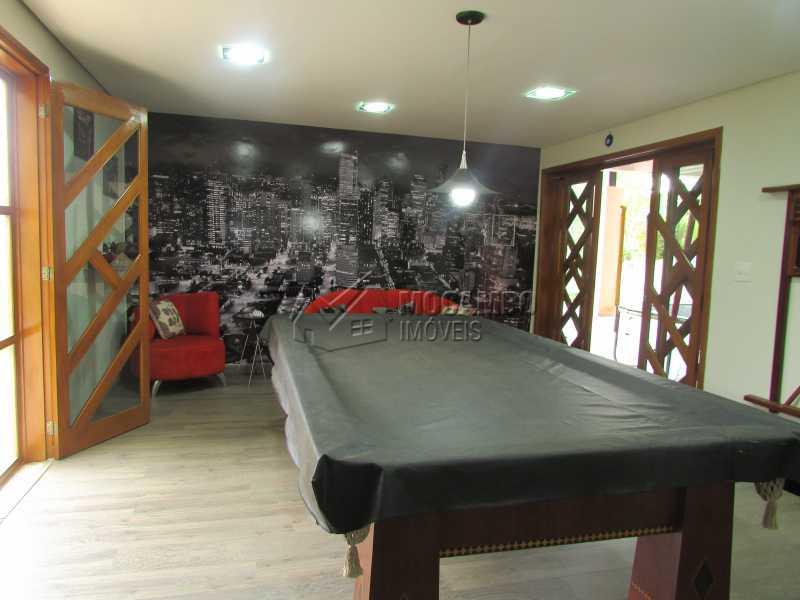 Salão de Jogos com Adega - Casa em Condomínio 5 quartos à venda Itatiba,SP - R$ 1.800.000 - FCCN50015 - 24