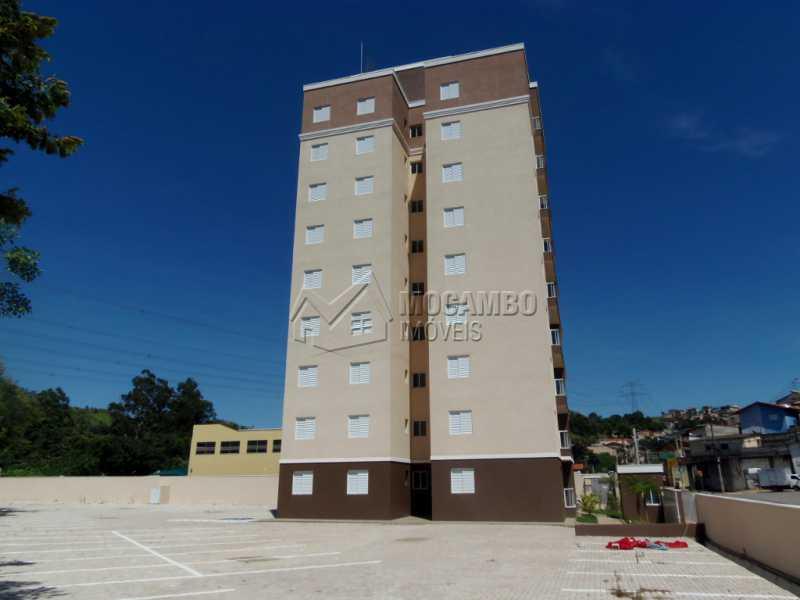 Lateral do prédio - Apartamento 2 quartos à venda Itatiba,SP - R$ 190.000 - FCAP20644 - 8