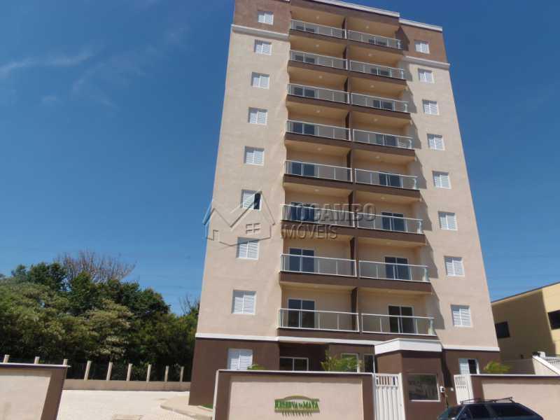 Fachada - Apartamento Condomínio Edifício Residencial Reserva da Mata, Itatiba, Jardim das Nações, SP À Venda, 2 Quartos, 44m² - FCAP20645 - 7