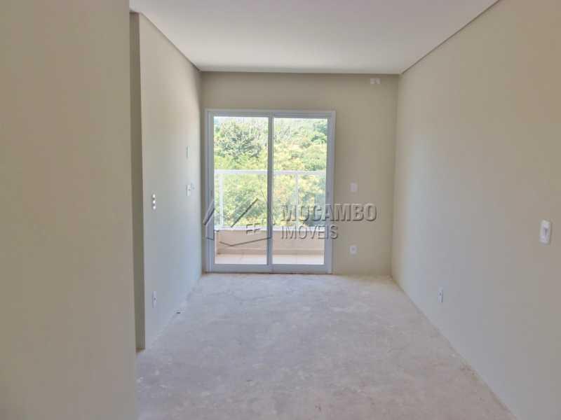 Sala - Apartamento Condomínio Edifício Residencial Reserva da Mata, Itatiba, Jardim das Nações, SP À Venda, 2 Quartos, 44m² - FCAP20645 - 3