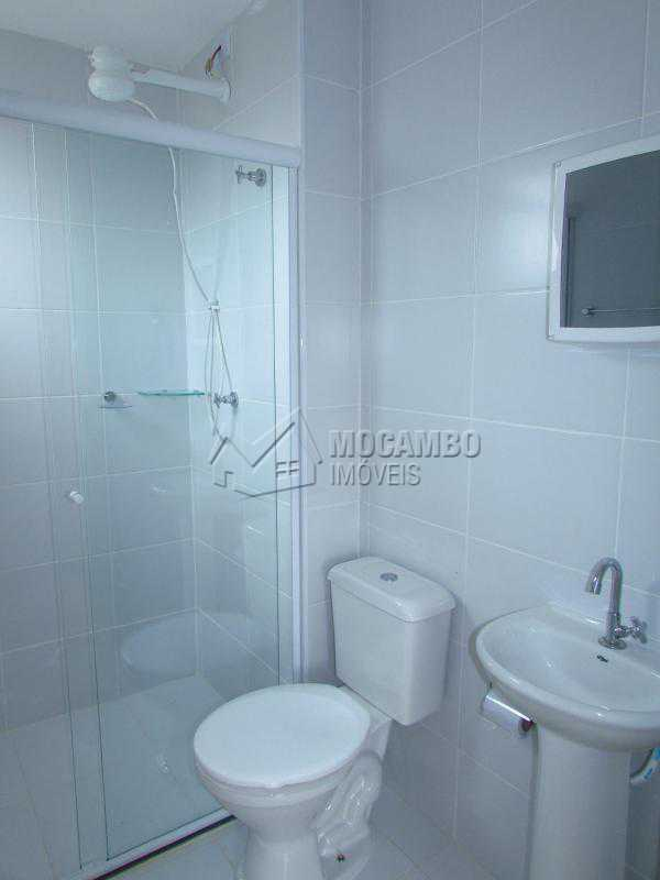 Banheiro social - Apartamento Para Alugar - Itatiba - SP - Loteamento Santo Antônio - FCAP20647 - 4