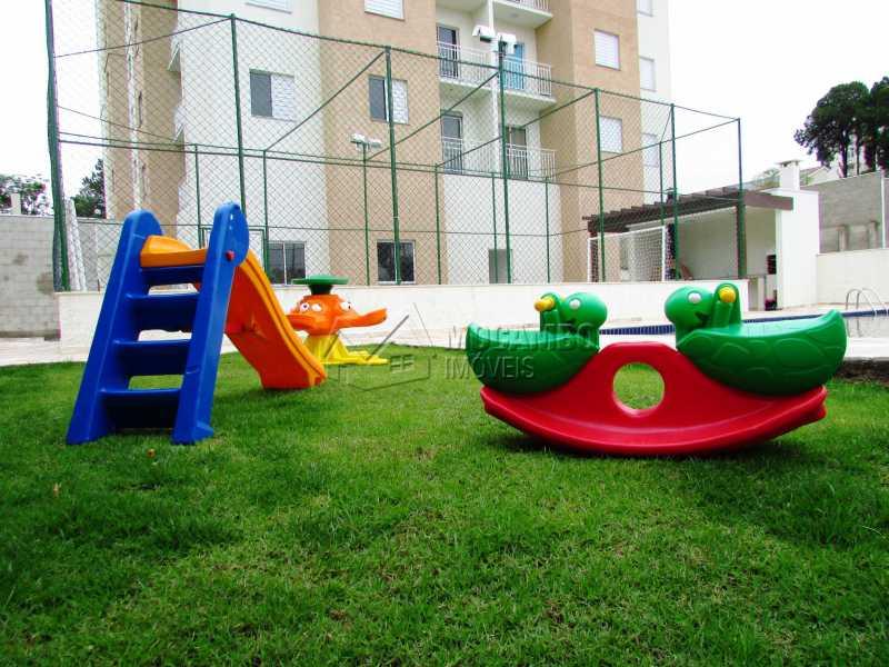 Play ground - Apartamento Para Alugar - Itatiba - SP - Loteamento Santo Antônio - FCAP20647 - 13