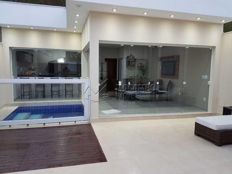 Area Gourmet - Casa em Condomínio 3 quartos à venda Itatiba,SP - R$ 820.000 - FCCN30300 - 1