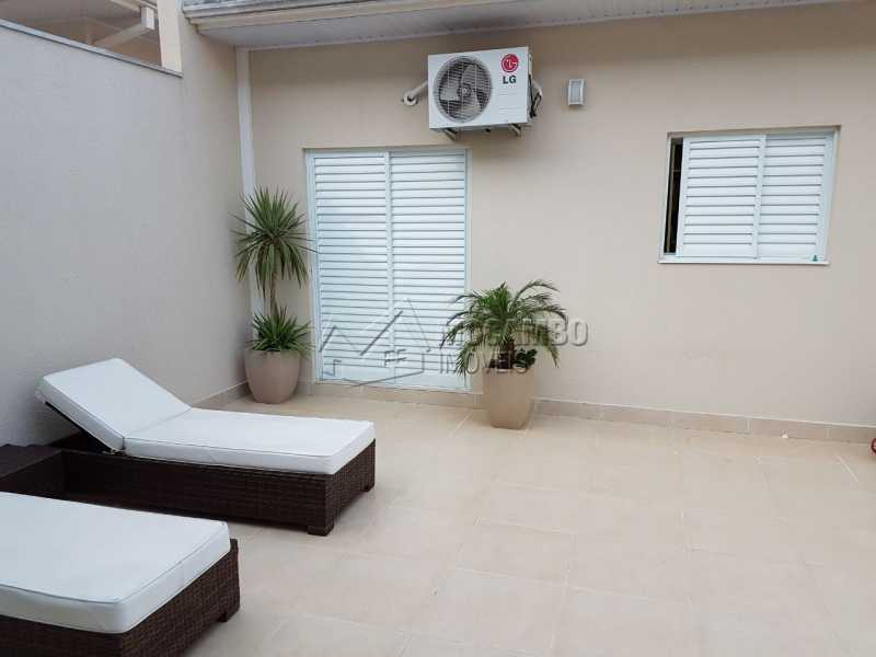 Quintal - Casa em Condomínio 3 quartos à venda Itatiba,SP - R$ 820.000 - FCCN30300 - 4