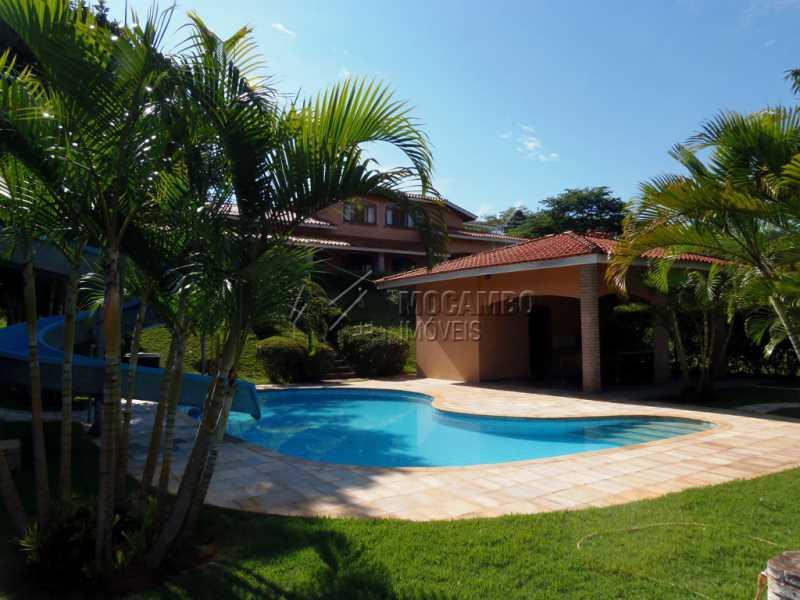Cond. Cachoeira do Imaratá - Casa em Condominio Para Venda ou Aluguel - Itatiba - SP - Real Parque Dom Pedro I - FCCN40098 - 1
