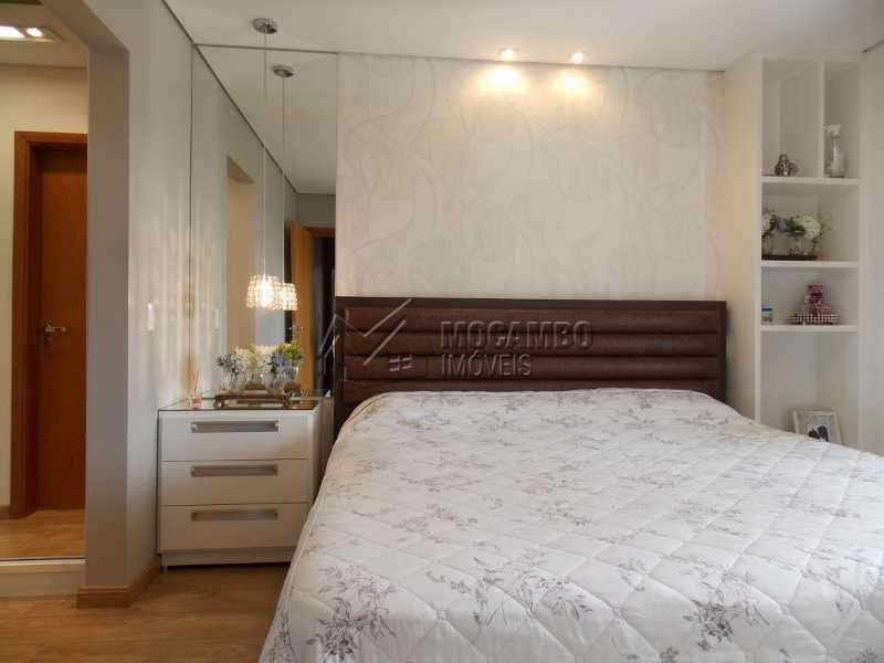 Suíte - Apartamento Condomínio Edifício Raritá, Avenida Prudente de Moraes,Itatiba, Centro,Vila Santa Cruz, SP À Venda, 3 Quartos, 120m² - FCAP30402 - 5