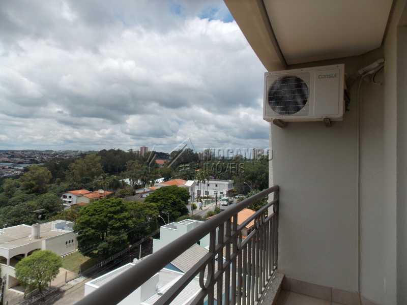 Varanda suíte - Apartamento Condomínio Edifício Raritá, Avenida Prudente de Moraes,Itatiba, Centro,Vila Santa Cruz, SP À Venda, 3 Quartos, 120m² - FCAP30402 - 9