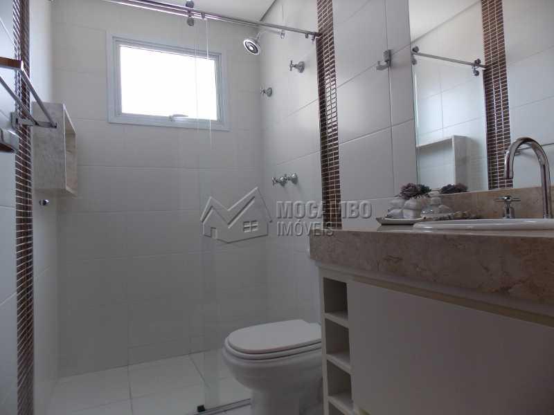 Banheiro Social - Apartamento Condomínio Edifício Raritá, Avenida Prudente de Moraes,Itatiba, Centro,Vila Santa Cruz, SP À Venda, 3 Quartos, 120m² - FCAP30402 - 12