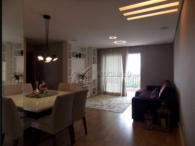 Sala de Jantar - Apartamento Condomínio Edifício Raritá, Avenida Prudente de Moraes,Itatiba, Centro,Vila Santa Cruz, SP À Venda, 3 Quartos, 120m² - FCAP30402 - 3