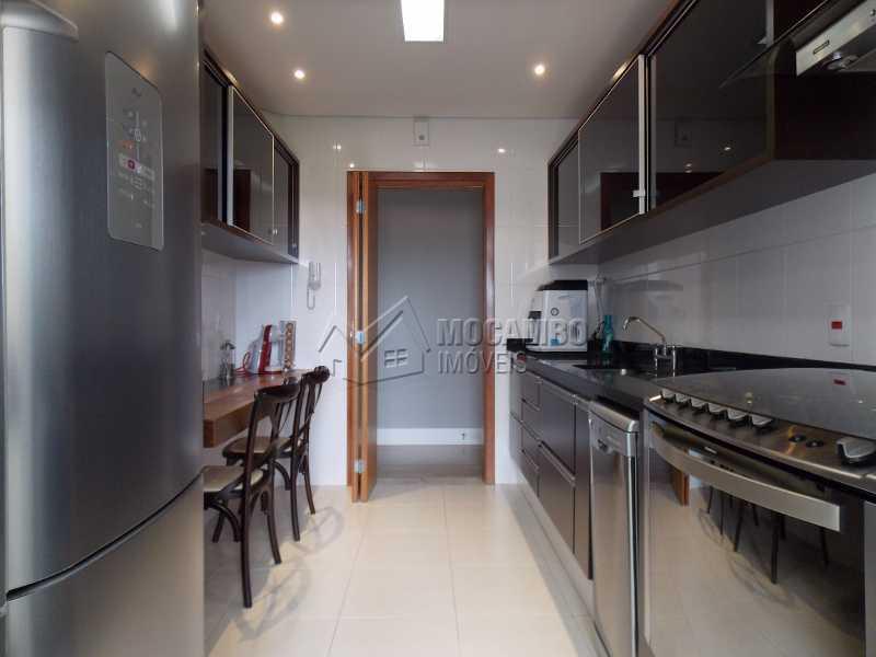 Cozinha - Apartamento Condomínio Edifício Raritá, Avenida Prudente de Moraes,Itatiba, Centro,Vila Santa Cruz, SP À Venda, 3 Quartos, 120m² - FCAP30402 - 18