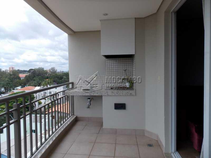 Varanda - Apartamento Condomínio Edifício Raritá, Avenida Prudente de Moraes,Itatiba, Centro,Vila Santa Cruz, SP À Venda, 3 Quartos, 120m² - FCAP30402 - 19