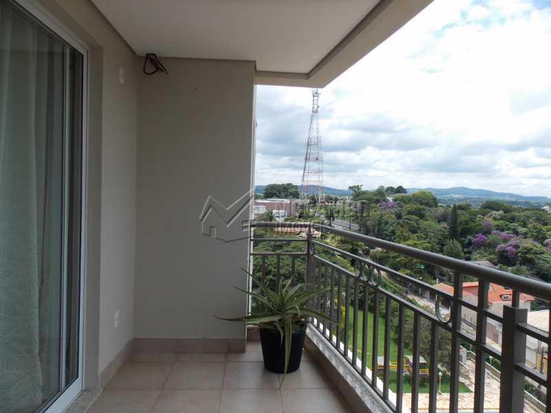 Varanda - Apartamento Condomínio Edifício Raritá, Avenida Prudente de Moraes,Itatiba, Centro,Vila Santa Cruz, SP À Venda, 3 Quartos, 120m² - FCAP30402 - 20