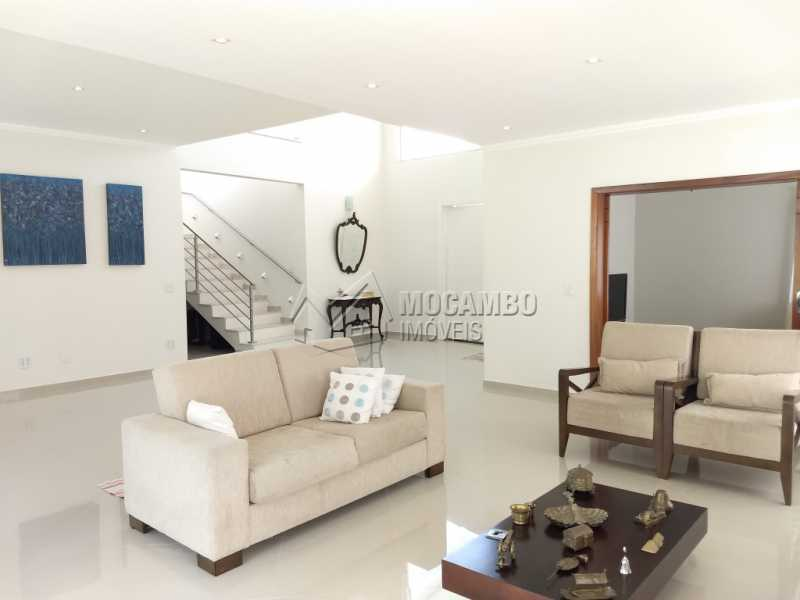 Sala Lareira - Casa em Condomínio 4 quartos à venda Itatiba,SP - R$ 1.650.000 - FCCN40099 - 3