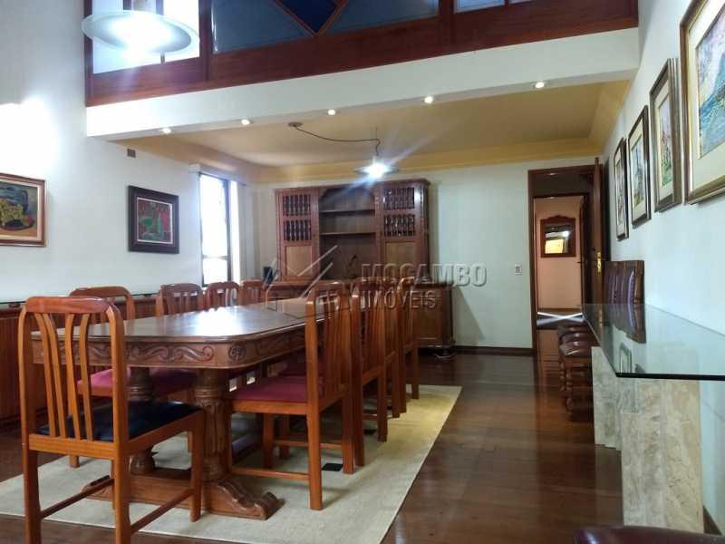 Sala de Jantar - Casa 4 quartos para alugar Itatiba,SP - R$ 5.000 - FCCA40108 - 7