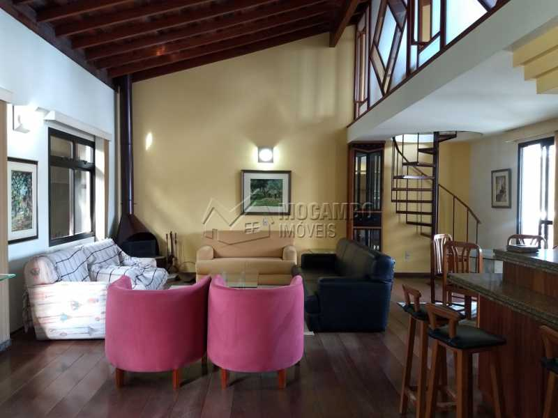 Sala de Estar - Casa 4 quartos para alugar Itatiba,SP - R$ 5.000 - FCCA40108 - 4