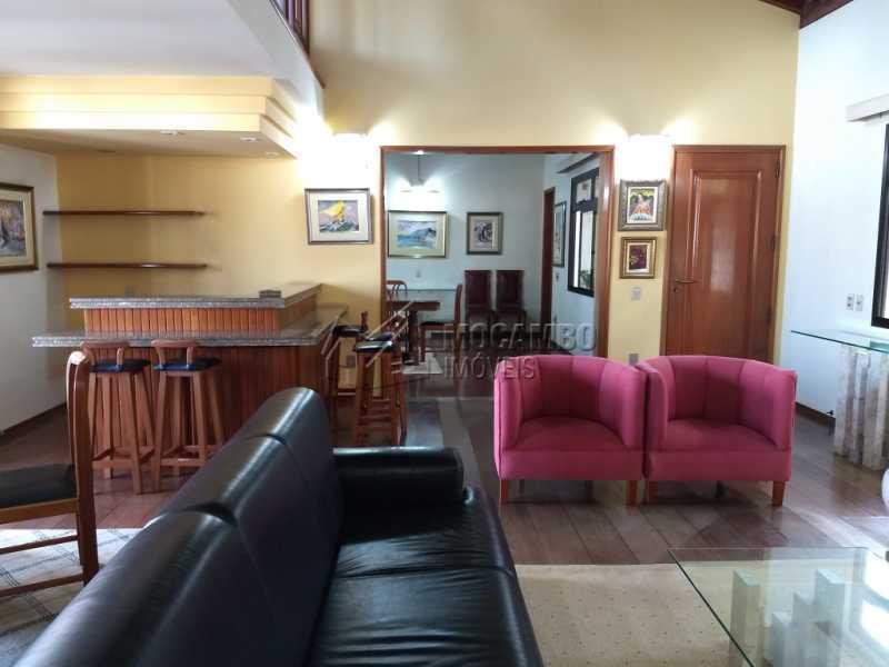 Sala de Estar - Casa 4 quartos para alugar Itatiba,SP - R$ 5.000 - FCCA40108 - 5