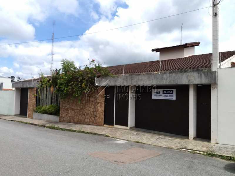 Fachada - Casa 4 quartos para alugar Itatiba,SP - R$ 5.000 - FCCA40108 - 3