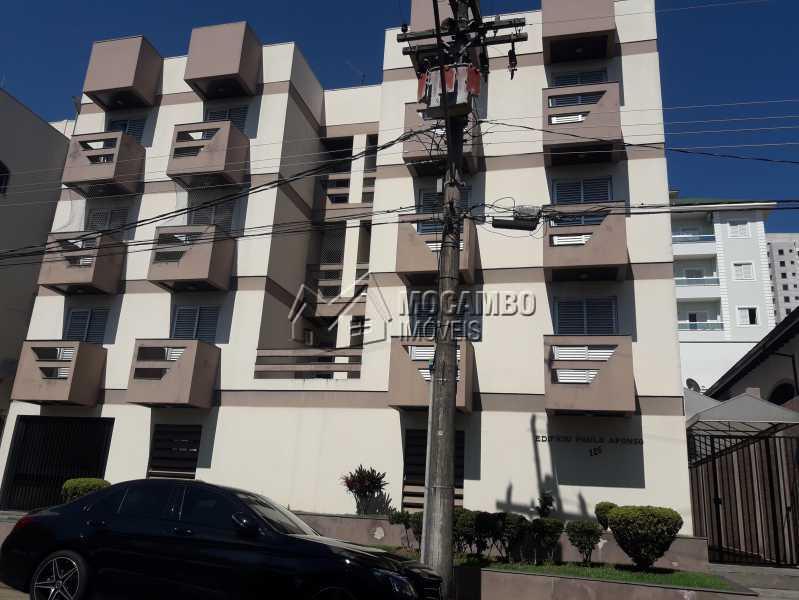 Fachada - Apartamento Condomínio Edifício Paulo Afonso, Itatiba, Jardim Belém, SP Para Alugar, 2 Quartos, 72m² - FCAP20666 - 9