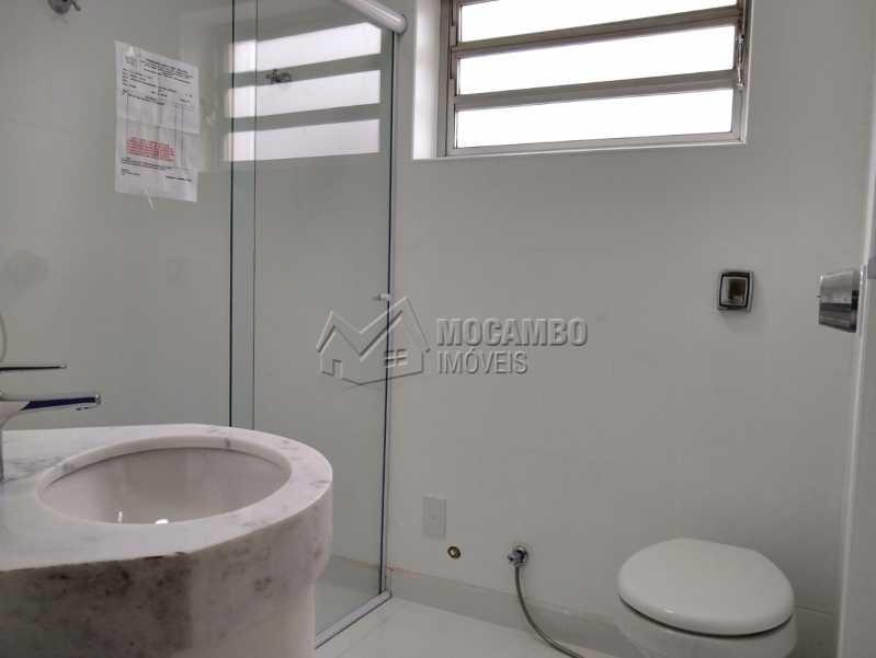 Banheiro  - Apartamento Condomínio Edifício Paulo Afonso, Itatiba, Jardim Belém, SP Para Alugar, 2 Quartos, 72m² - FCAP20666 - 6