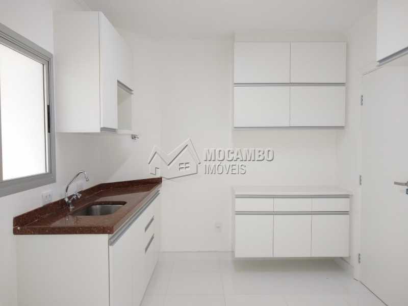 Cozinha - Apartamento Condomínio Edifício Paulo Afonso, Itatiba, Jardim Belém, SP Para Alugar, 2 Quartos, 72m² - FCAP20666 - 1