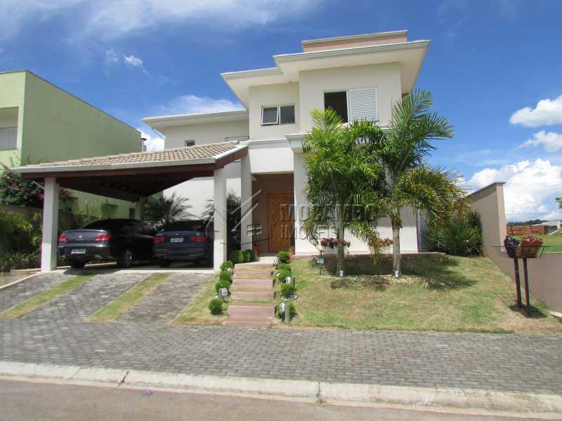 Fachada - Casa em Condomínio Bosque dos Pires, Rodovia Alkindar Monteiro Junqueira,Itatiba, Bairro Sítio da Moenda, SP À Venda, 4 Quartos, 358m² - FCCN40100 - 6