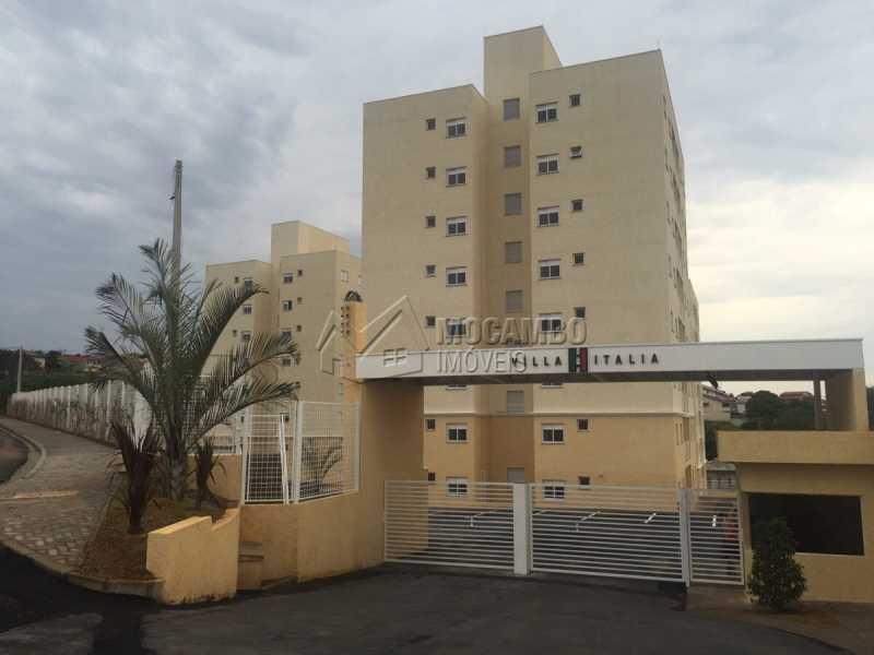 Fachada - Apartamento 2 Quartos À Venda Itatiba,SP - R$ 220.000 - FCAP20667 - 1