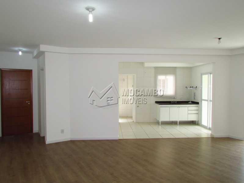 Sala - Apartamento Condomínio Edifício Panorama, Itatiba, Centro, SP À Venda, 3 Quartos, 118m² - FCAP30404 - 3