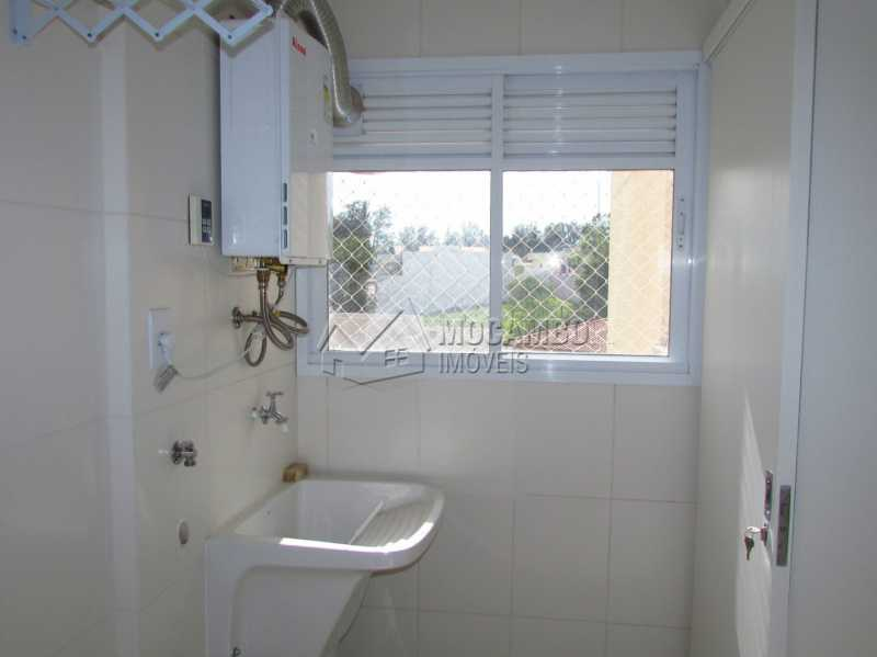 Área de serviço - Apartamento Condomínio Edifício Panorama, Itatiba, Centro, SP À Venda, 3 Quartos, 118m² - FCAP30404 - 23