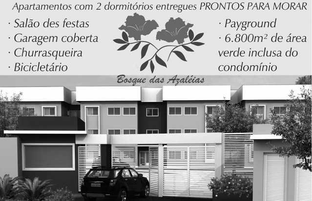 BOSQUE DAS AZALEIAS - Apartamento 2 Quartos À Venda Itatiba,SP - R$ 170.000 - FCAP20672 - 10