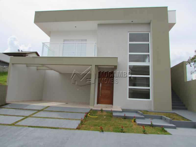 Fachada  - Casa em Condominio À Venda - Itatiba - SP - Residencial Fazenda Serrinha - FCCN30307 - 3