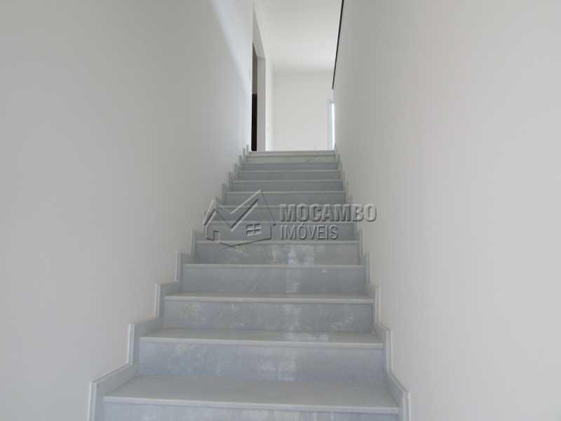 Escada entrada  - Casa em Condominio À Venda - Itatiba - SP - Residencial Fazenda Serrinha - FCCN30307 - 4