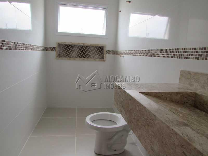 Banheiro Social  - Casa em Condominio À Venda - Itatiba - SP - Residencial Fazenda Serrinha - FCCN30307 - 13