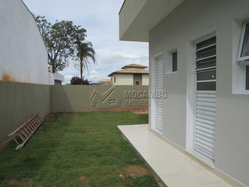 Quintal  - Casa em Condominio À Venda - Itatiba - SP - Residencial Fazenda Serrinha - FCCN30307 - 18