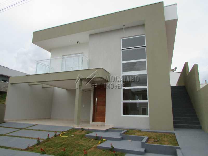 Fachada  - Casa em Condominio À Venda - Itatiba - SP - Residencial Fazenda Serrinha - FCCN30307 - 1