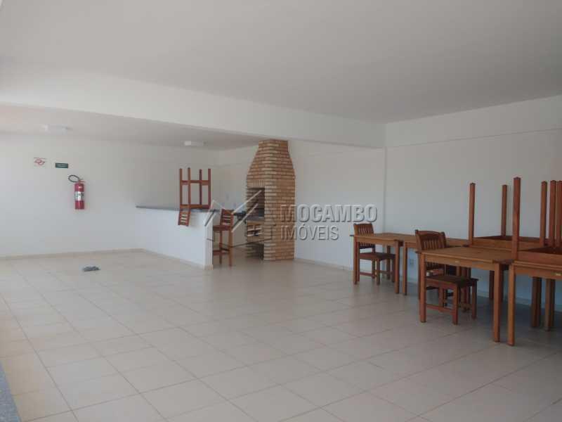 Churrasqueira - Apartamento 1 quarto para alugar Itatiba,SP - R$ 670 - FCAP10055 - 1