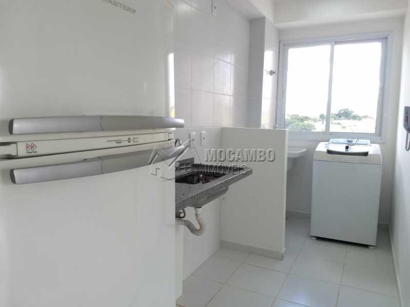 Cozinha - Apartamento 1 quarto para alugar Itatiba,SP - R$ 670 - FCAP10055 - 10