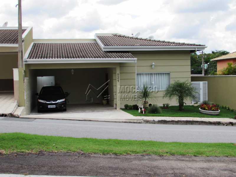 Fachada - Casa em Condominio À Venda - Itatiba - SP - Residencial Fazenda Serrinha - FCCN30309 - 1