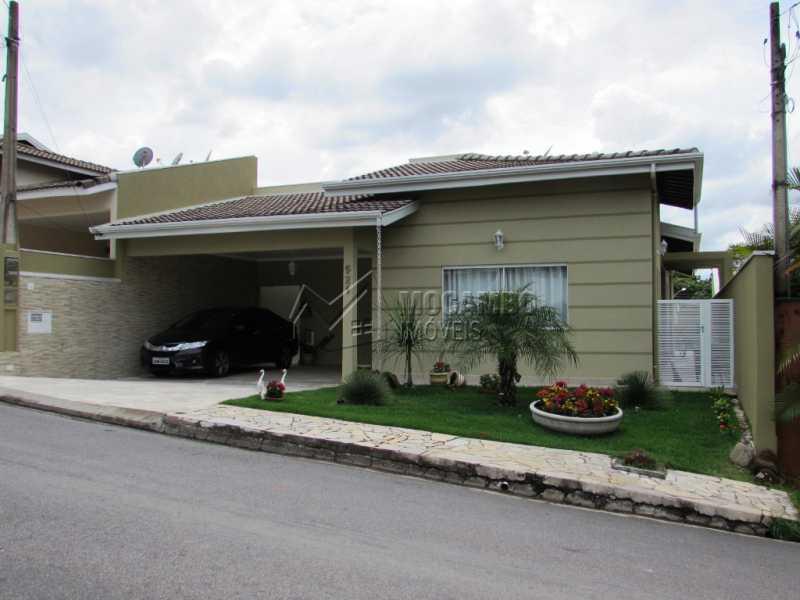 Fachada - Casa em Condominio À Venda - Itatiba - SP - Residencial Fazenda Serrinha - FCCN30309 - 3