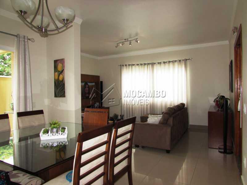Sala - Casa em Condominio À Venda - Itatiba - SP - Residencial Fazenda Serrinha - FCCN30309 - 4