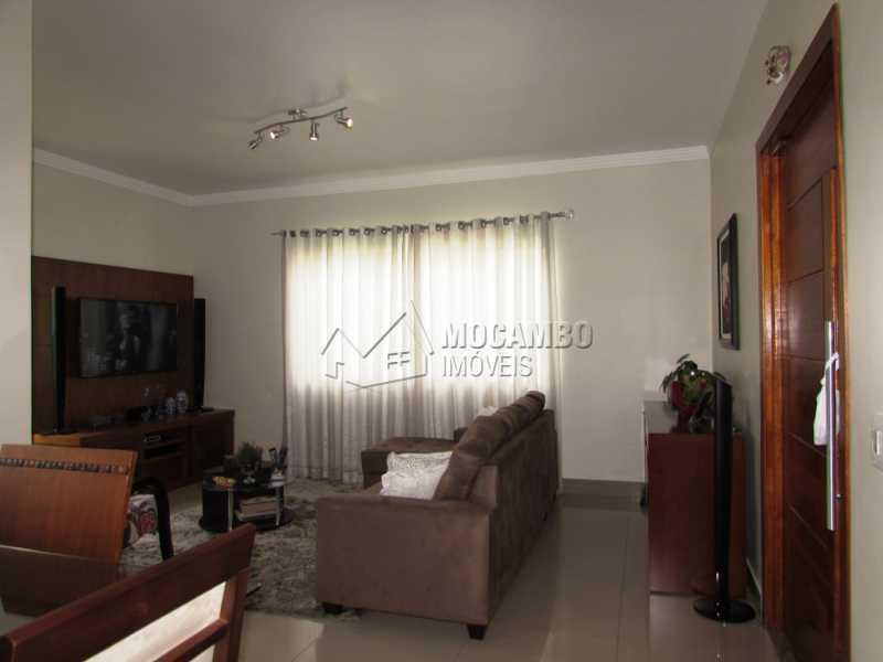 Sala - Casa em Condominio À Venda - Itatiba - SP - Residencial Fazenda Serrinha - FCCN30309 - 6